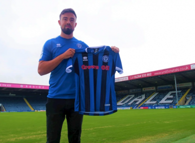 Eoghan O'Connell has signed on a two-year deal.