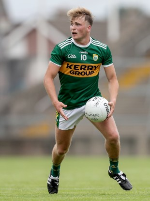 Fiachra Clifford is one of the minor winners in the Kerry setup.