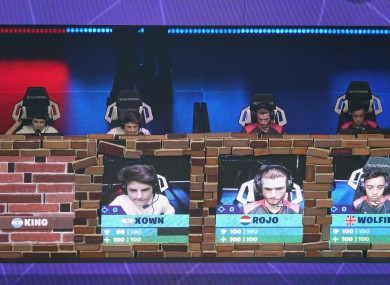 Fortnite World Cup in New York.
