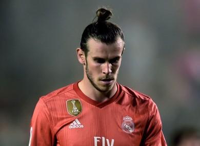 Real Madrid attacker Gareth Bale.