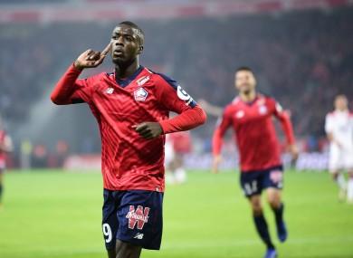 Pepe scored 22 Ligue 1 goals last season.