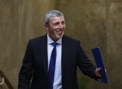 Israel's Education Minister Rafi Peretz