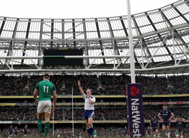 Barnes was the man in the middle of Ireland's 2018 Six Nations win over Scotland.