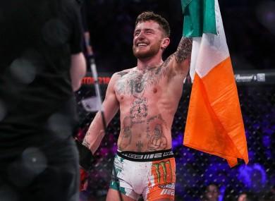 Irish MMA star, James Gallagher.