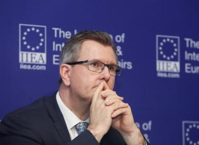 DUP MP Jeffrey Donaldson