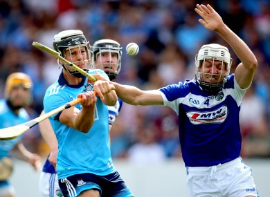Phelan attempting to block down Dublin's Cian Boland last weekend.