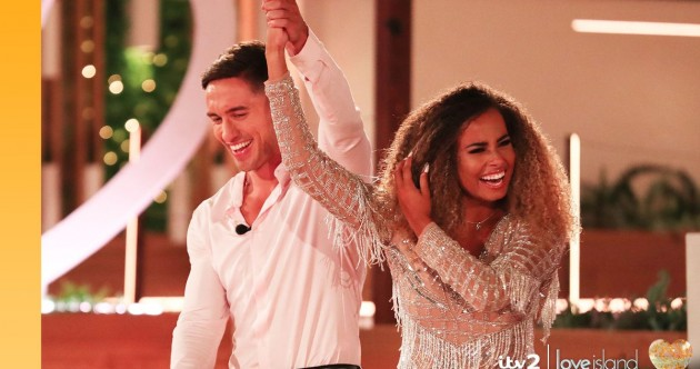 Over 650,000 viewers in Ireland have watched last night's Love Island finale