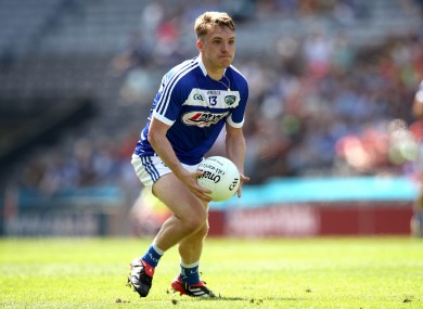 Ready to go: Ross Munnelly.