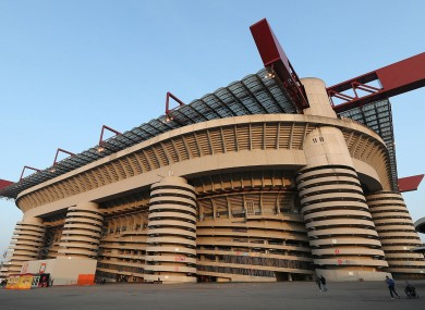 AC Milan and Inter file proposal for new 60,000-seater