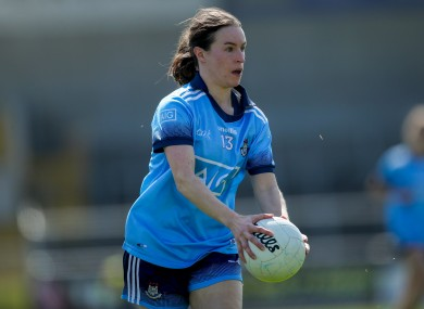 Captain Sinead Aherne scored 1-11 on Saturday.