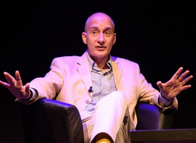 Andrew Adonis speaks during the Politics Festival, at King's Place in London.