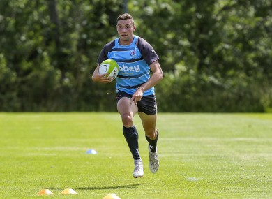 Sexton runs it back in training at Newforge.
