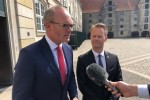 Simon Coveney in Denmark today where he said alternatives to the backstop will be listened to, but the withdrawal agreement is not up for renegotiation.