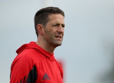 Aidan O'Connell has held roles with Munster, Leinster and the IRFU.