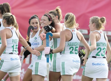 Ireland women will have home advantage in their two-legged qualifier.