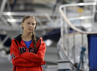 Greta Thunberg will set sail for New York from Plymouth today.