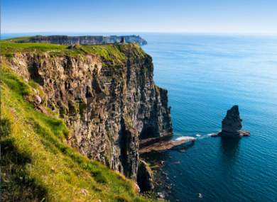 The Cliff's of Moher Experience was Ireland's second most visited attraction.