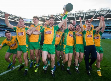 Corofin are the defending All-Ireland senior club football championship winners.