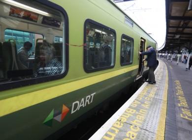 File photo of a Dart train.