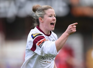 Lynsey McKey equalised late on for Galway against Wexford.