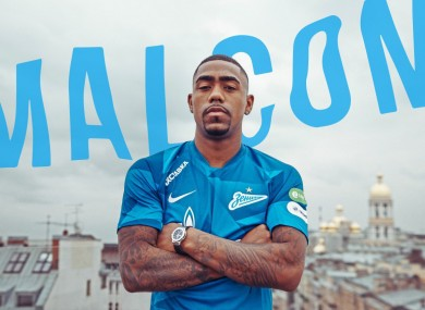 Zenit announced the signing on Friday.