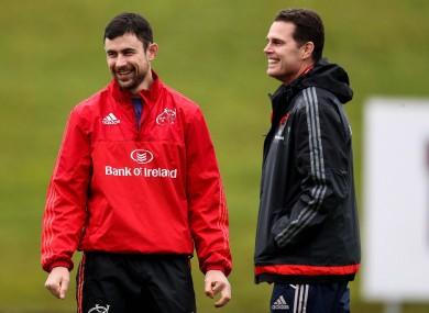 Jones and Erasmus at Munster.