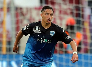 Ismael Bennacer has joined AC Milan from Empoli