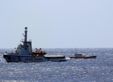 The Open Arms ship with 147 migrants on board arrived at dawn this morning in the immediate vicinity of Lampedusa, southern Italy