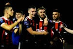 Bohs needed penalties to get past Longford last Friday.