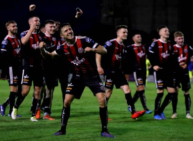 It was another good night for Bohs.