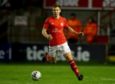 Shelbourne defender, Luke Byrne.