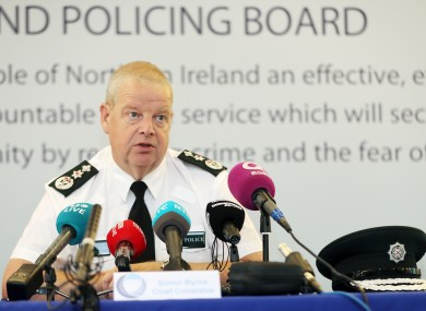 PSNI Chief Constable has warned of the dangers of a hard border following Brexit.
