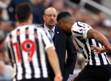 Benitez has lifted the lid on his Newcastle exit.