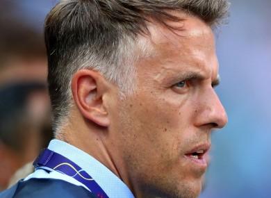 Former England defender Phil Neville.