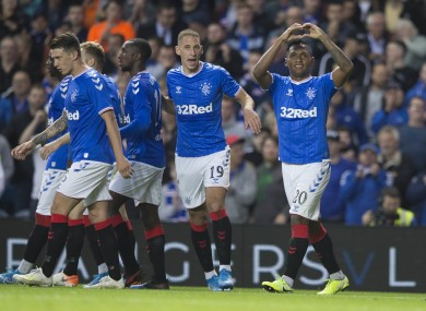 Rangers overcame FC Midtjylland 3-1 in the second leg at Ibrox.