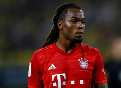 Bayern Munich's Renato Sanches.