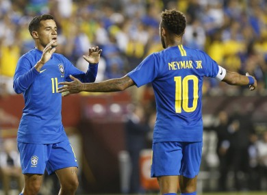 The Brazilian team-mates could be heading in opposite directions.