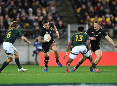 Williams eyes a break in New Zealand's home draw with South Africa last weekend.