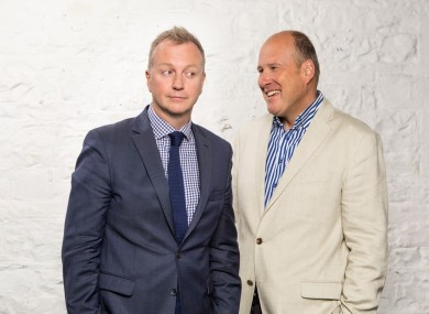 Matt Cooper and Ivan Yates are returning as hosts of The Tonight Show.