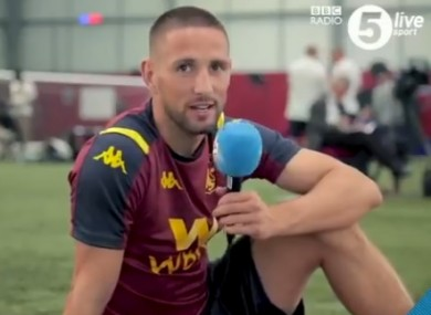 A decade of pain: Conor Hourihane has launched a plea for commentators to pronounce his surname correctly ahead of the new Premier League season.