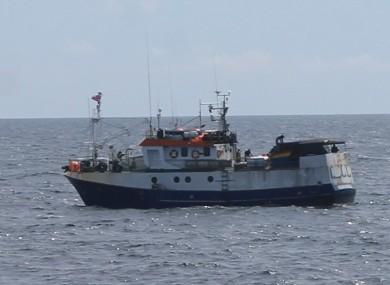Portuguese Fishing Vessel