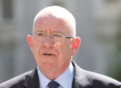 Minister for Justice and Equality Charlie Flanagan.