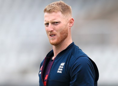 Stokes plays cricket for the England national team.