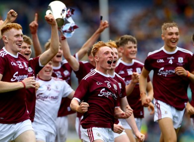 The victorious Galway team.