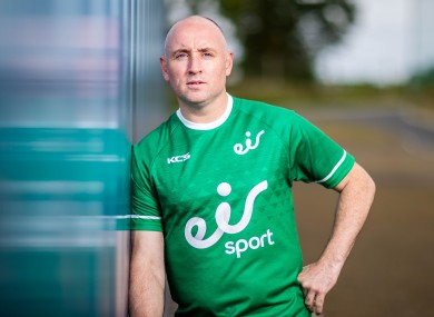 Eoin Kelly helped launch eir Sport's new season of action today at the Sport Ireland Campus.