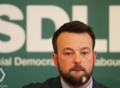 The SDLP and leader Colum Eastwood are facing a decisive election.