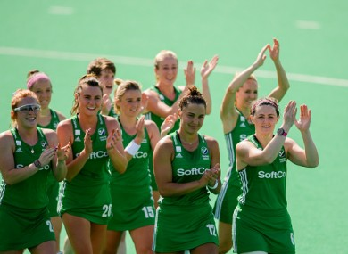 Ireland women will have home advantage against Canada.
