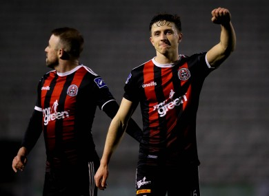 Bohemians vice-captain Keith Buckley will be hoping to help his side overcome Shamrock Rovers in tonight's FAI Cup semi-final.