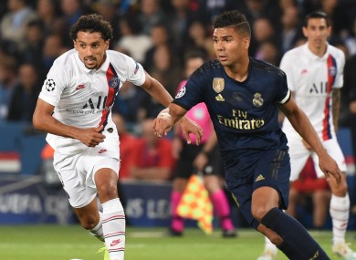 It was a night to forget for Madrid at the Parc des Princes.