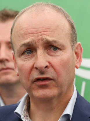 Fianna Fáil leader Micheál Martin pictured at the National Ploughing Championships last week.